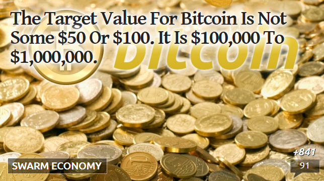 bitcoin target value is $1,000,000