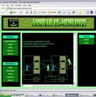 jihadist website