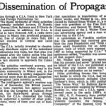 cia dissemination of propaganda