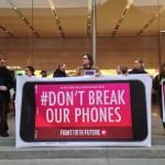 Apple Vs FBI protest