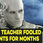 robot teacher fooled students